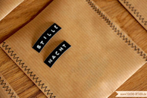 Adventskalender Packpapier   www.youdid-design.de