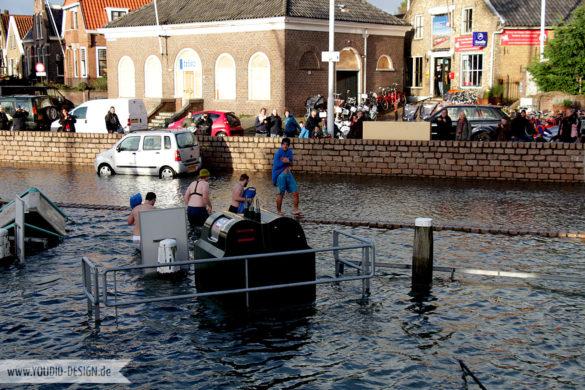 Einkaufen trotz Hochwasser | www.youdid-design.de