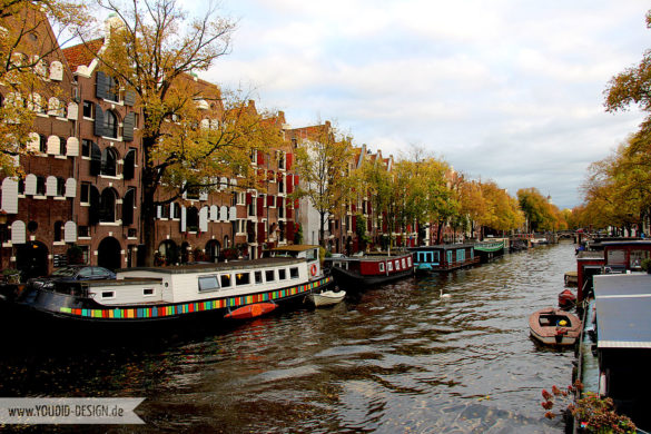 Gracht in Amsterdam | www.youdid-design.de