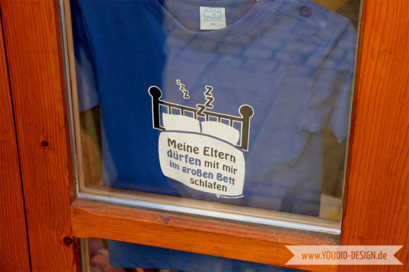 Tshirt Meine Eltern | www.youdid-design.de