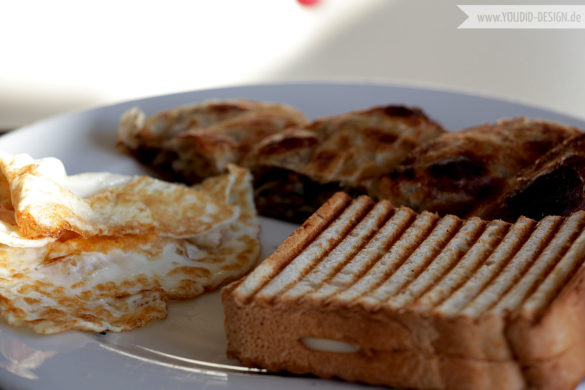 Eier und Sandwich | youdid-design.de