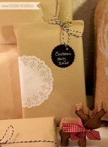 Geschenkverpackung mit Spitze   www.youdid-design.de