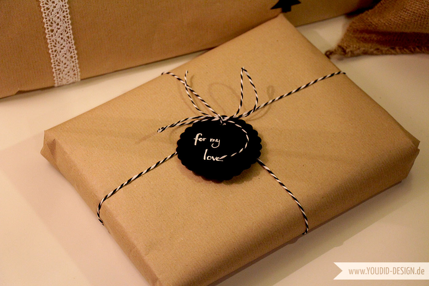 Gift Wrapping Ideas | www.youdid-design.de