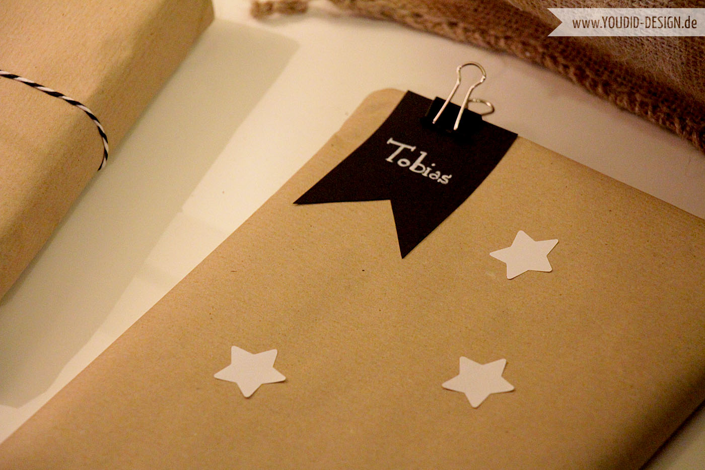 Gift Wrapping Star | www.youdid-design.de