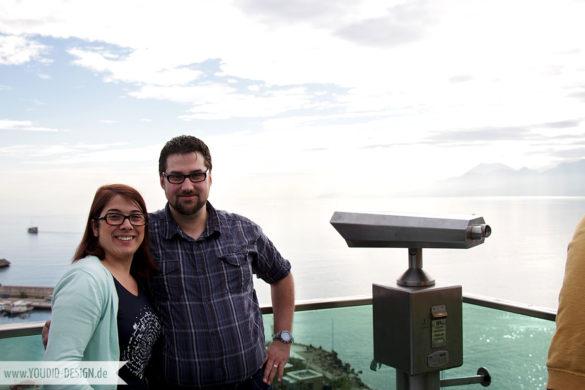 Judith und Simon am Hafen von Antalya | youdid-design.de