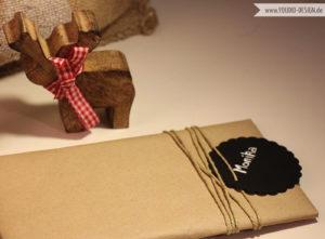 Kraftpapier als Geschenkpapier | www.youdid-design.de