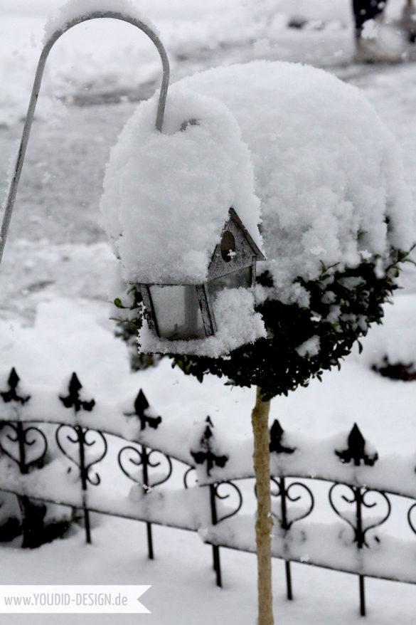 Laterne im Schnee | www.youdid-design.de