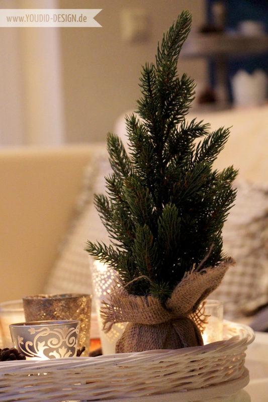 Mini Weihnachtsbaum | www.youdid-design.de
