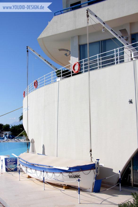 Rettungsboot Titanic | youdid-design.de