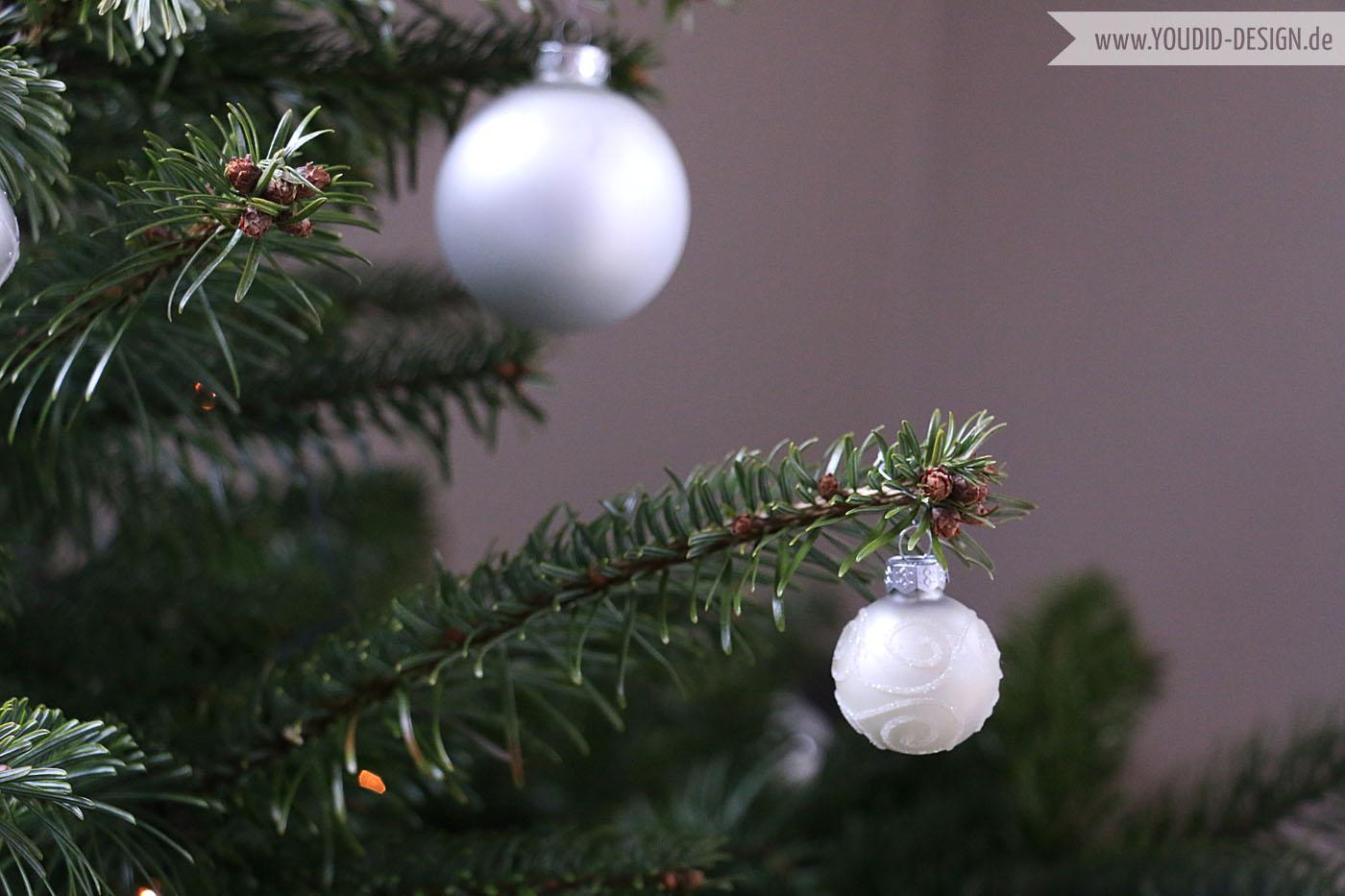 Weihnachtsbaum silber | www.youdid-design.de