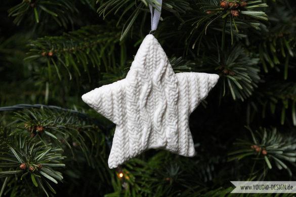 White Ornament Star   www.youdid-design.de