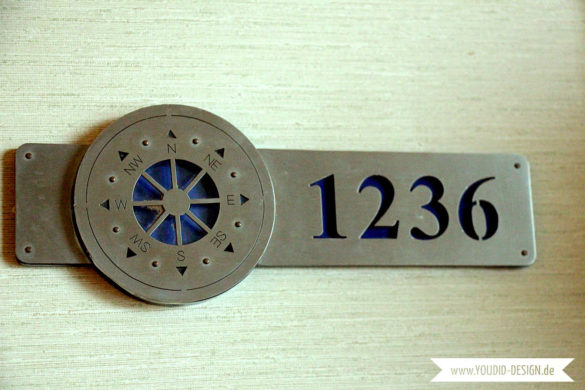 Zimmernummer Kompass Titanic Hotel | youdid-design.de