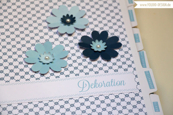 Blumen mit der Cameo schneiden| www.youdid-design.de
