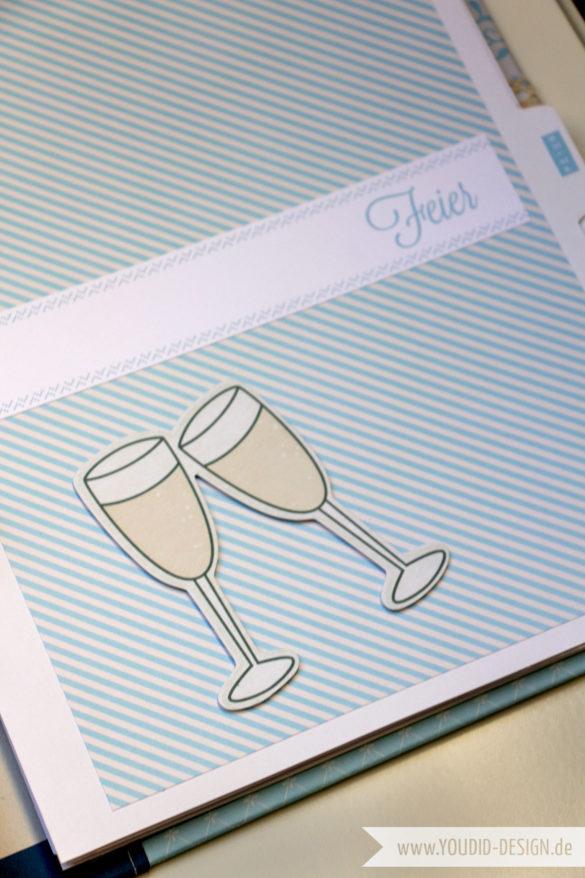 Eigenes Scrapbooking Papier| www.youdid-design.de