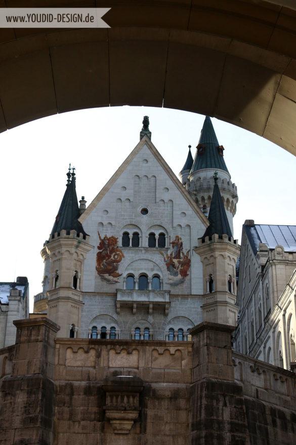 Innenhof des Schlosses | www.youdid-design.de
