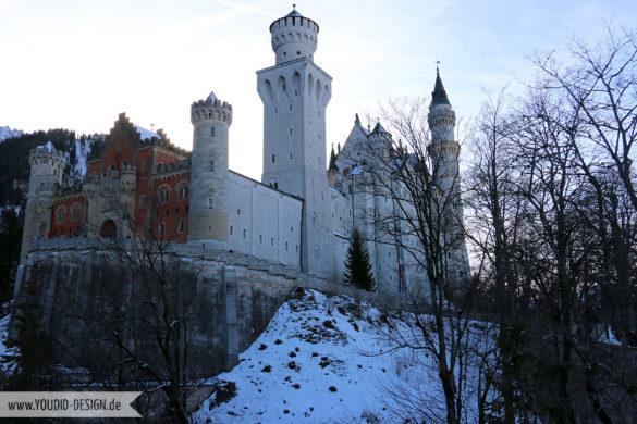 Schloss Neuschwanstein | www.youdid-design.de
