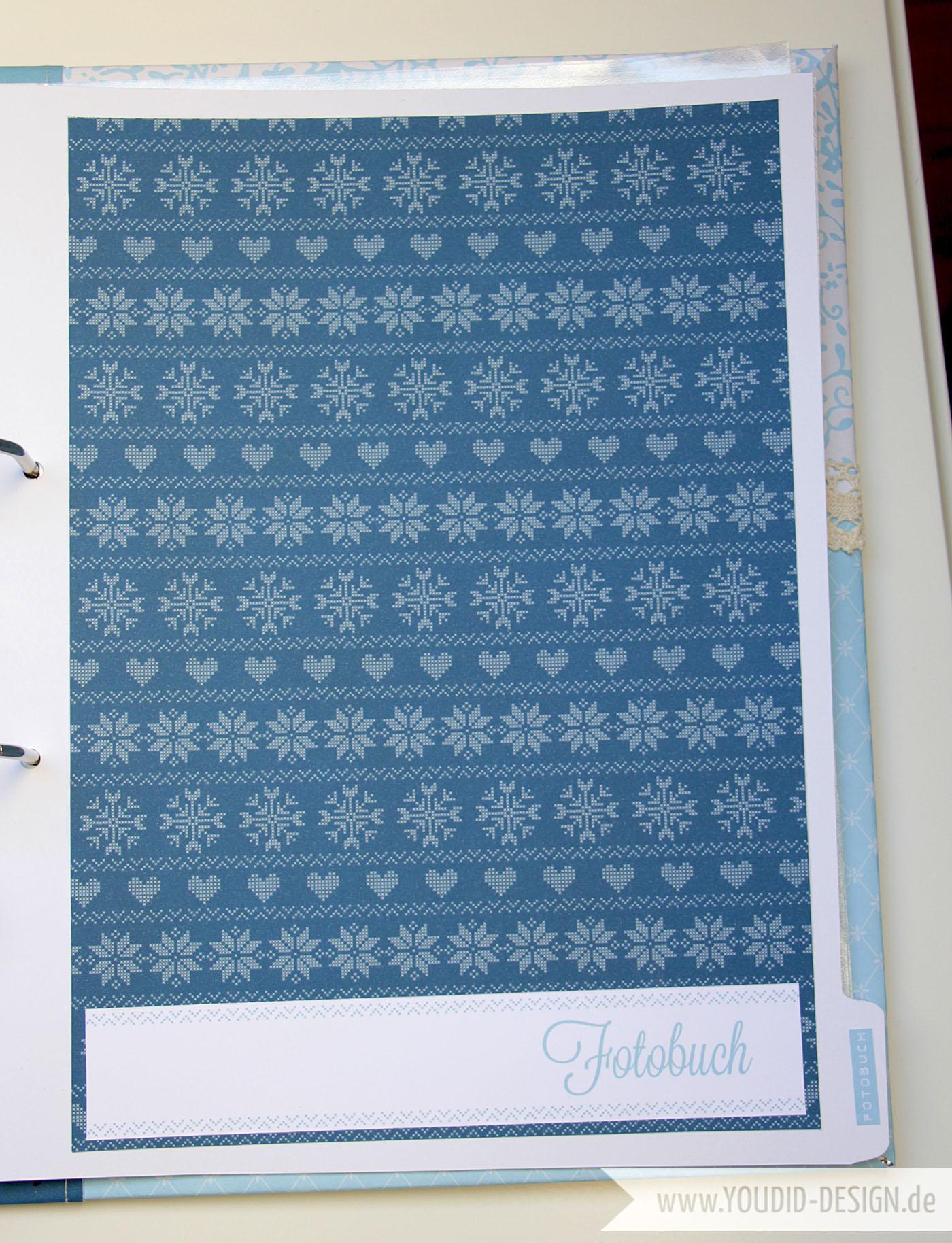 Scrapbook Papier selbst herstellen| www.youdid-design.de