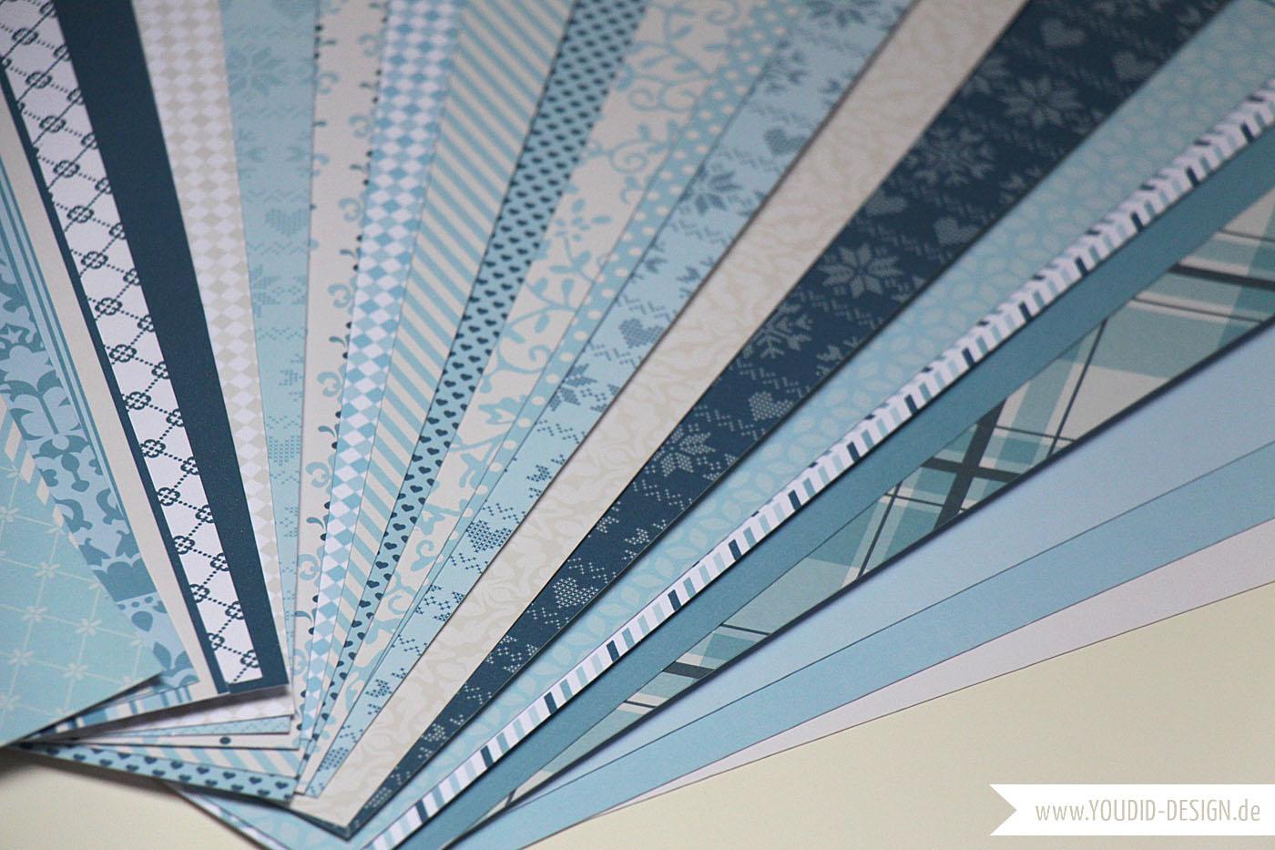 Scrapbooking Paper Freebie| www.youdid-design.de