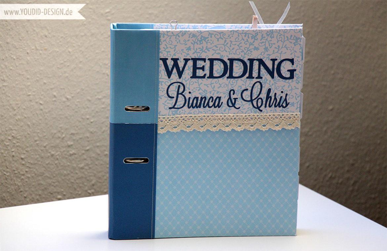 Wedding Planner with printable Scrapbooking Paper| www.youdid-design.de