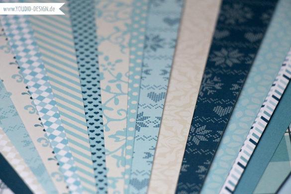 selfmade Scrapbooking Paper| www.youdid-design.de