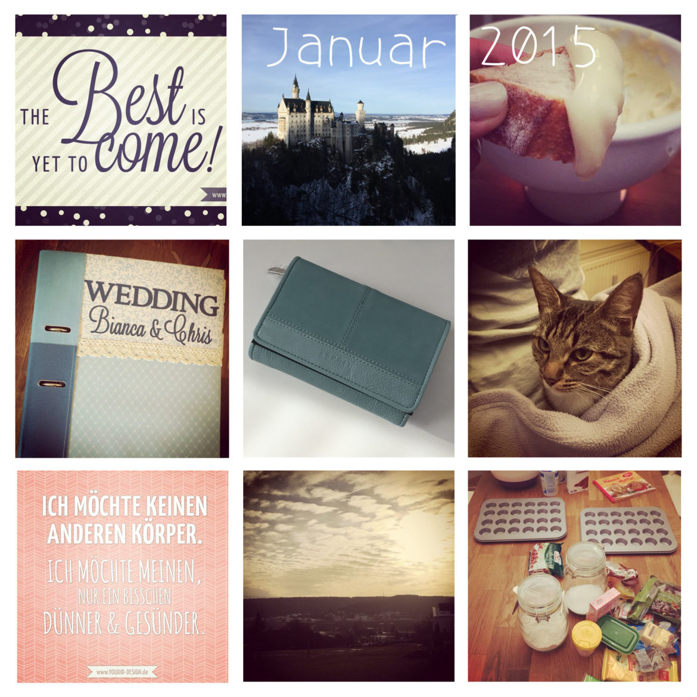 Januar Rückblick Instagram   www.youdid-design.de