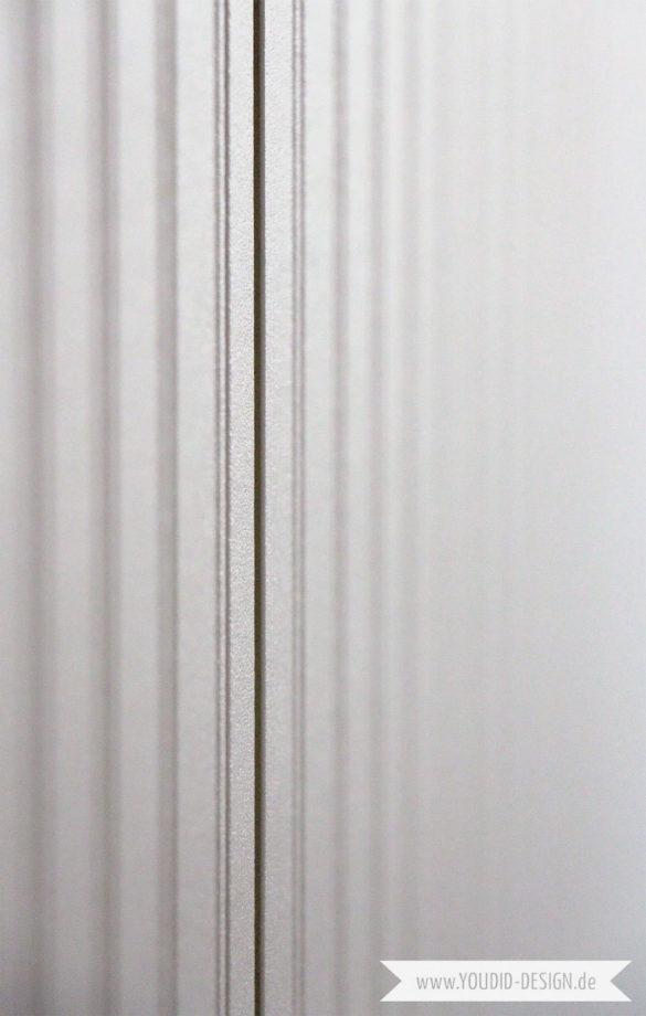 Beadboard Wallpaper IKEA Pax Makeover | www.youdid-design.de