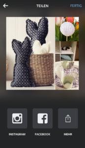 Fertiges Layout erstellt mit Layout der neuen Instagram App   www.youdid-design.de