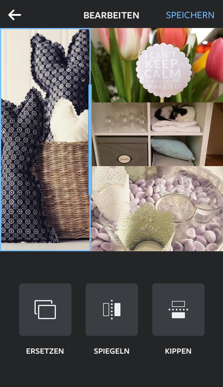 layout von instagram neue app f r fotocollagen youdid. Black Bedroom Furniture Sets. Home Design Ideas