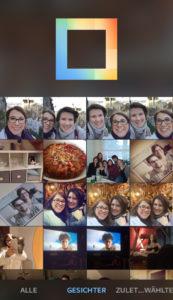 Layout Instagram Gesichtserkennung | www.youdid-design.de