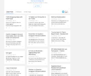 Bloglovin zeigt Bilder nicht an | www.youdid-design.de