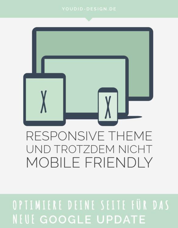 Responsive Theme und trotzdem nicht mobile friendly - Robot.txt anpassen | www.youdid-design.de