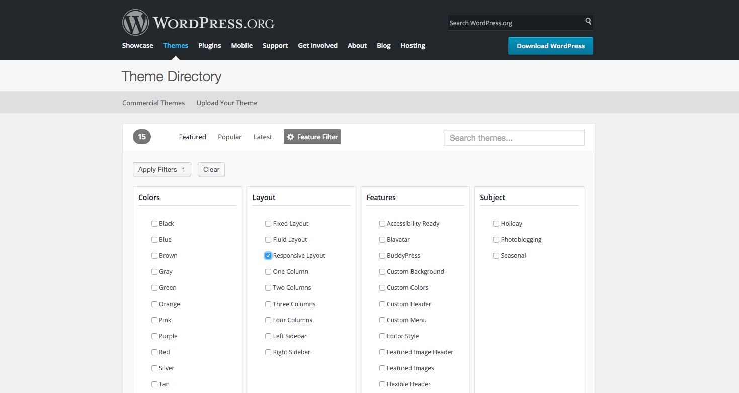 Theme Directory WordPress responsive Layout | www.youdid-design.de