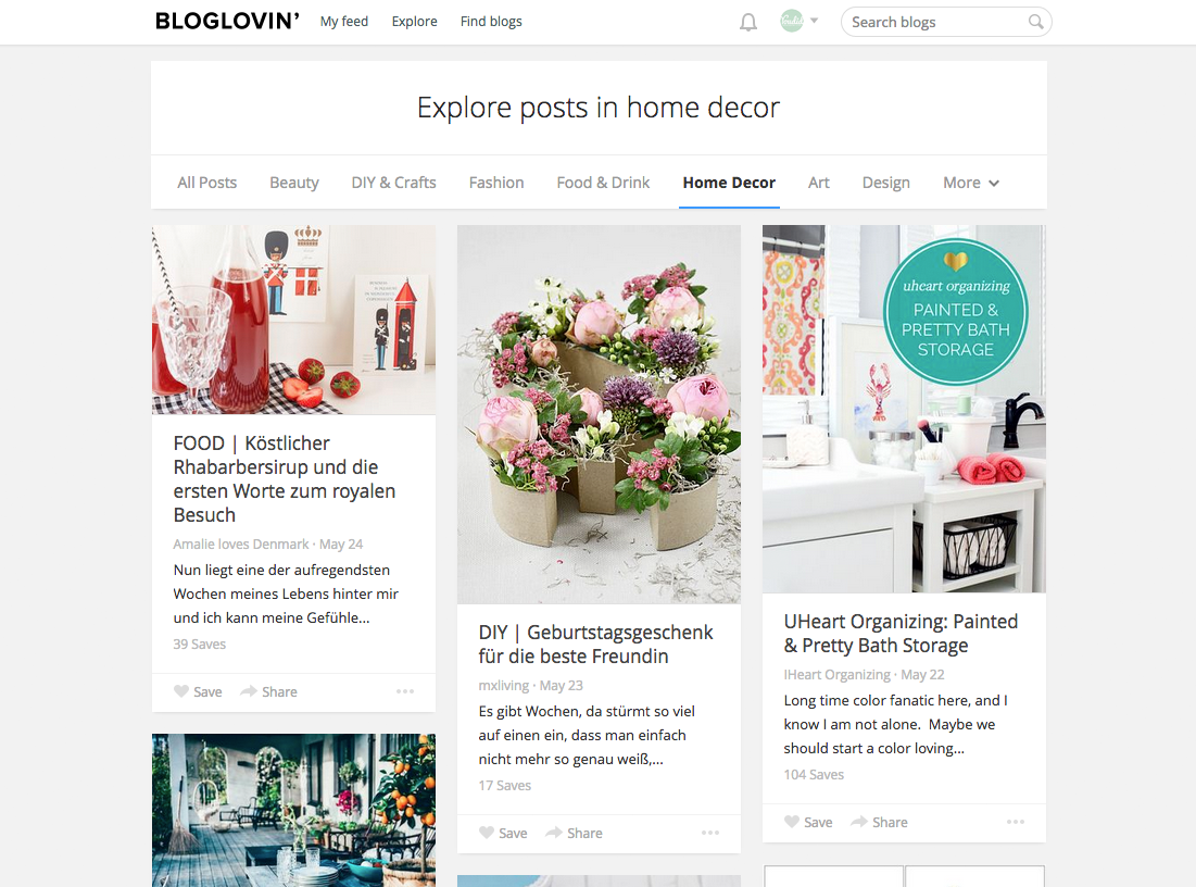 Explore Posts in home decor on Bloglovin - Artikel entdecken in der Kategorie Deko | www.youdid-design.de