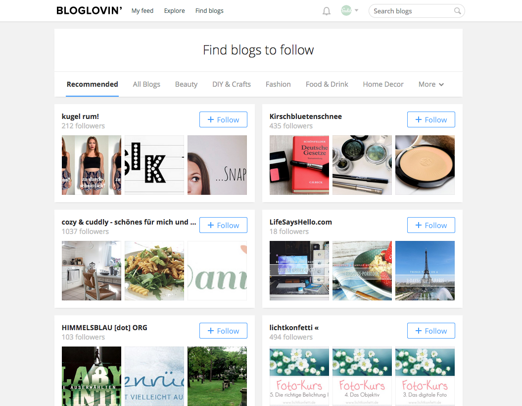Find blogs to follow on Bloglovin neue Blogs finden bei Bloglovin | www.youdid-design.de