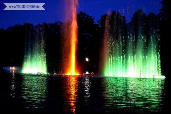 Lichtspiele im Planten un Blomen Park | www.youdid-design.de