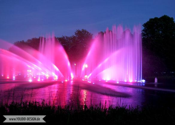 Planten un Blomen Park Hamburg Musikorgel | www.youdid-design.de