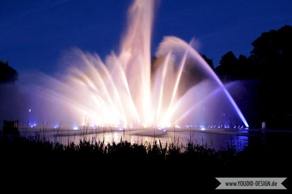 Planten un Blomen Park Hamburg Wasserlichtspiele | www.youdid-design.de