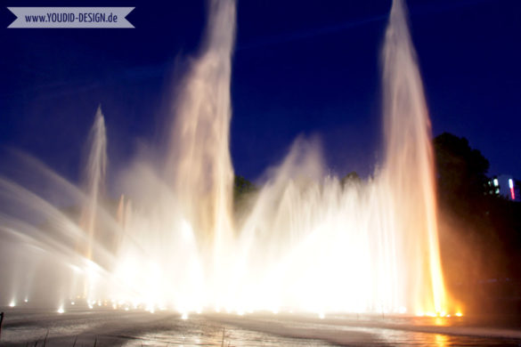 Wasserlichtspiele Planten un Blomen | www.youdid-design.de