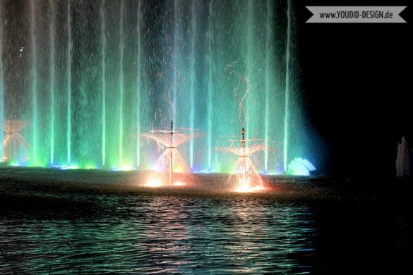Wasserlichtspiele im Detail Planten un Blomen | www.youdid-design.de