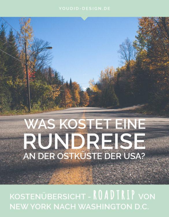 Was kostet eine Rundreise an der Ostküste der USA | www.youdid-design.de