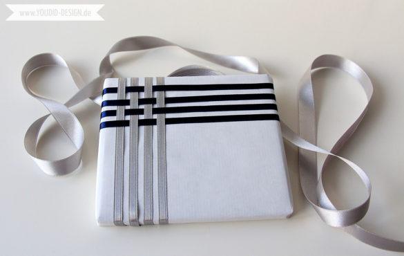 Geschenke verzieren mit Geschenkband | www.youdid-design.de