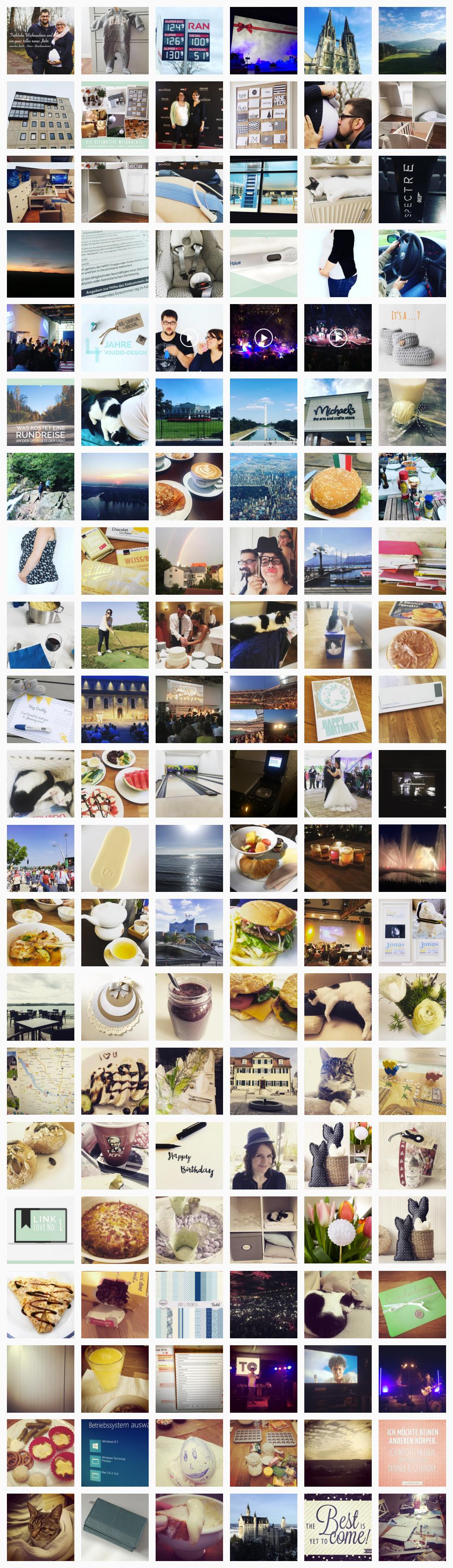Ein ganzes Jahr Instagram Jahresrückblick 2015 | www.youdid-design.de