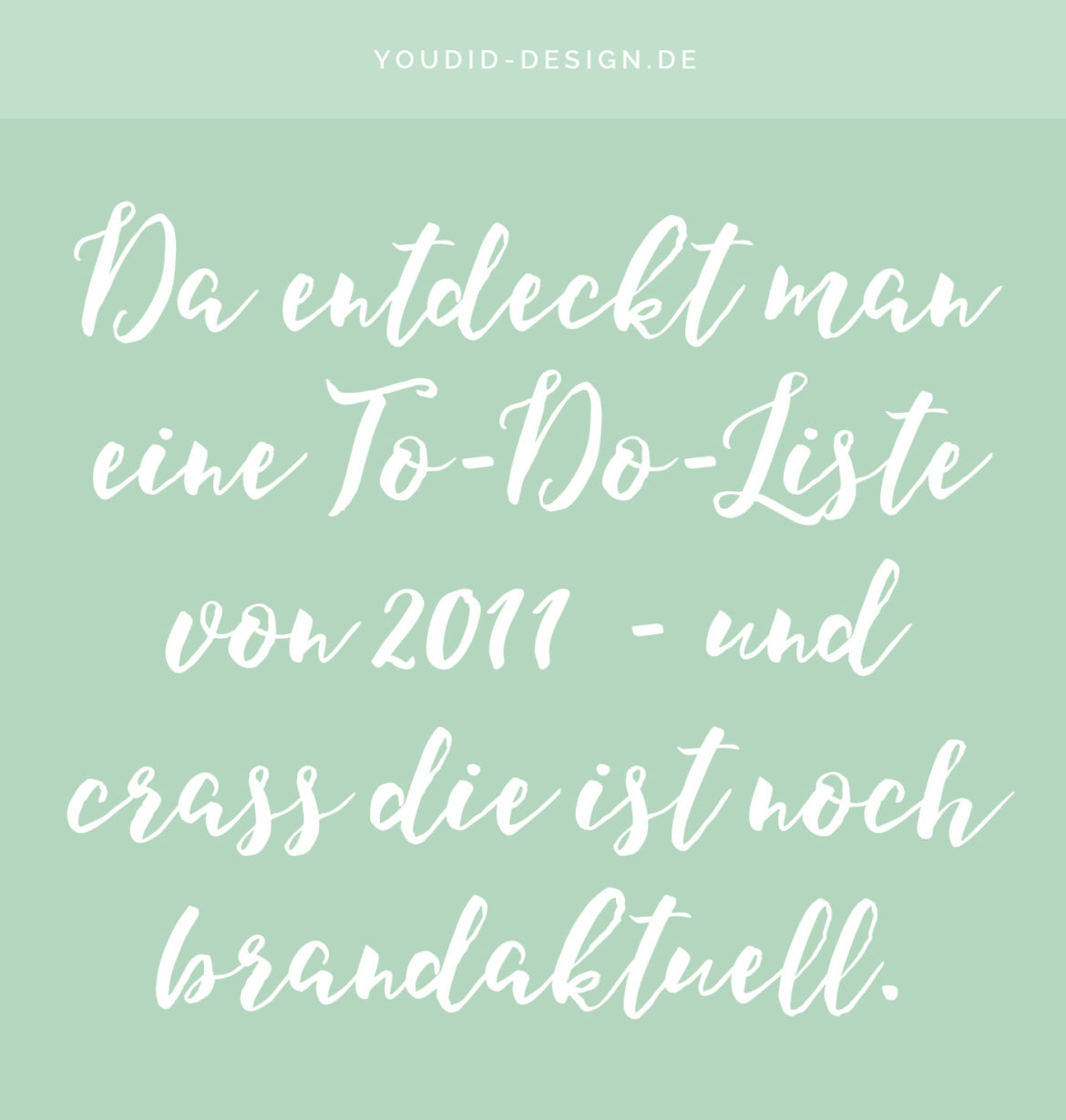 To-Do-Liste 2016 - New Year Resolution Freebie Free Printable | www.youdid-design.de