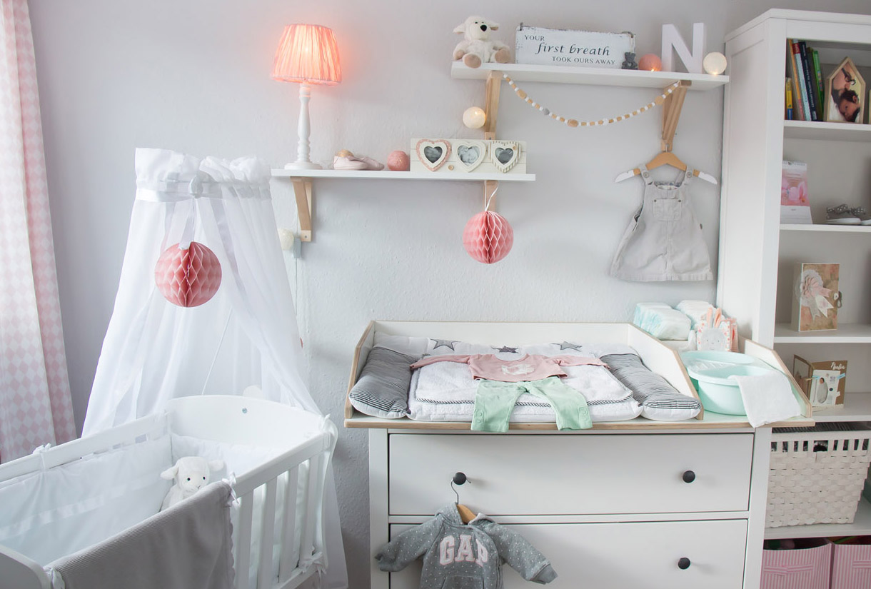 Inspiration For A Scandinavian Nursery Inspirationen Für Ein  Skandinavisches Babyzimmer In Mint Blush IKEA IKEA Hemnes