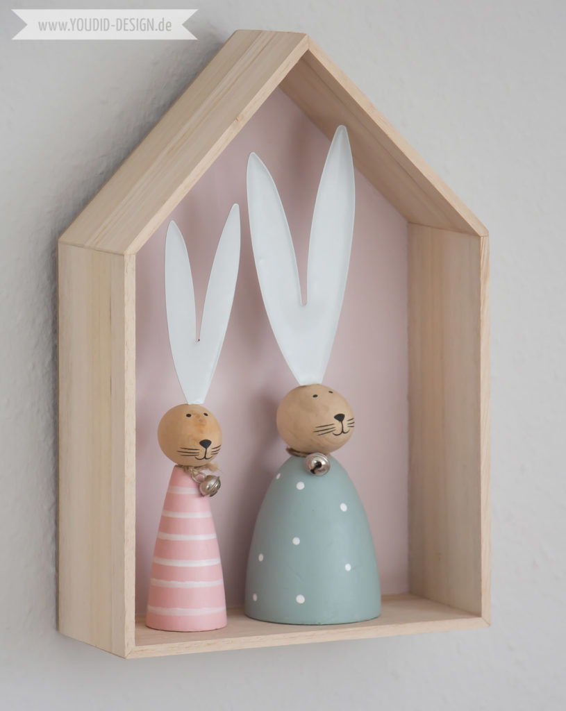 Inspiration for a scandinavian nursery Inspirationen für ein skandinavisches Kinderzimmer in mint blush House Shelf Haus Regal scandinavian deko nordic interior scandi style simplicity | www.youdid-design.de