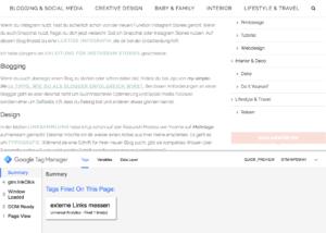Klicks auf externe Links mit dem Google Tag Manager und Google Analytics messen - Tag testen erfolgreich | www.youdid-design.de