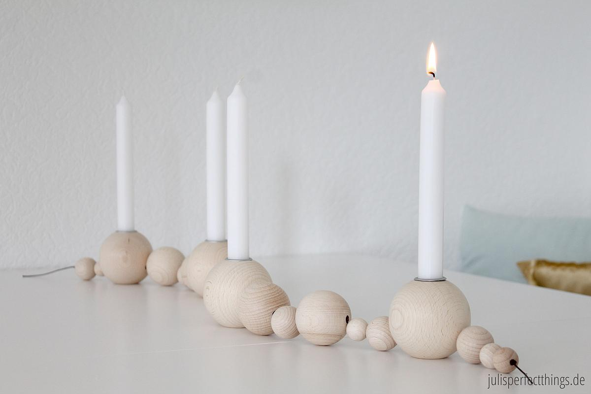 Kerzenhalter Adventskranz String Ferm Living by Juli | www.youdid-design.de