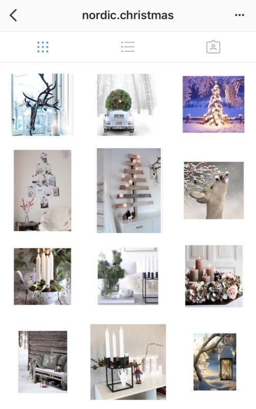 Instagram Account skandinavische Weihnachtsdeko nordic christmas decor | www.youdid-design.de