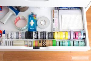 Aufbewahrung für Scrapbooking Papiet Washi Tape Gewürzregal | www.youdid-design.de