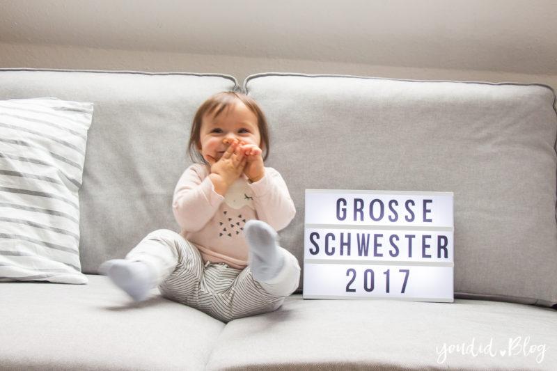 Bin ich schwanger Lightbox Schwangerschaft mitteilen Pregnancy Announcement | https://youdid.blog